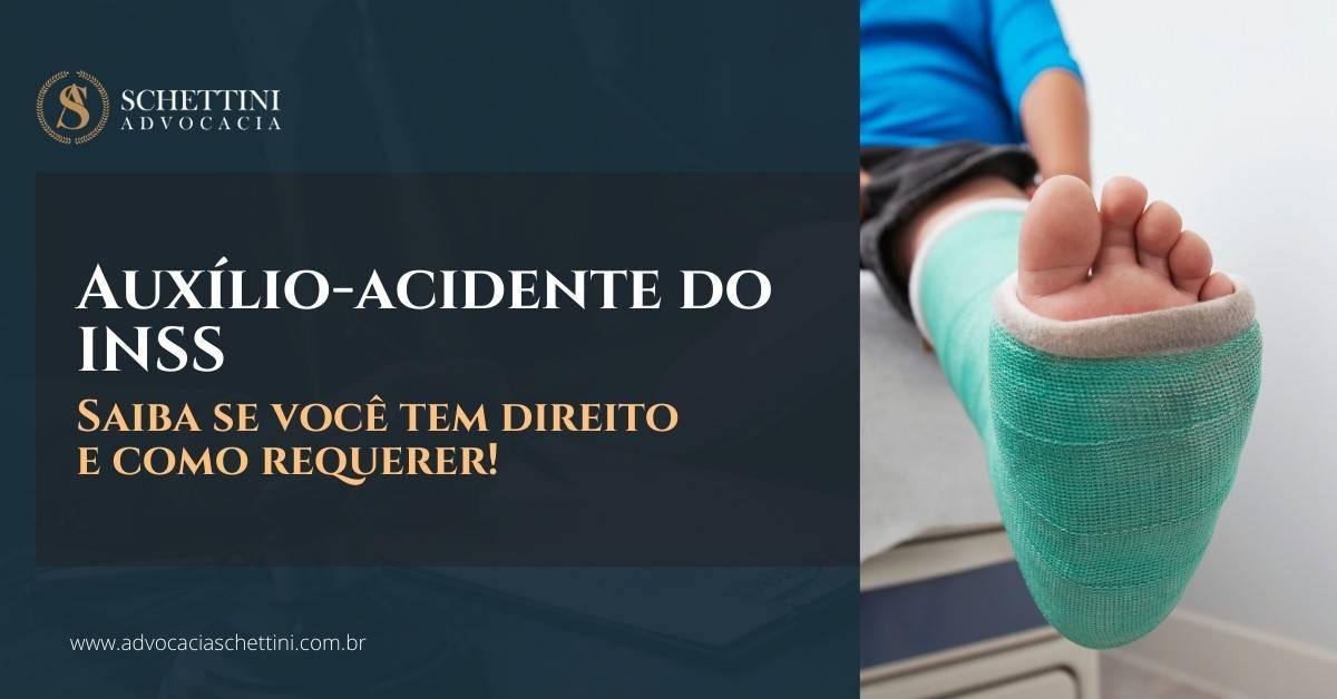 Auxílio-acidente do INSS: Saiba se você tem direito e como requerer!